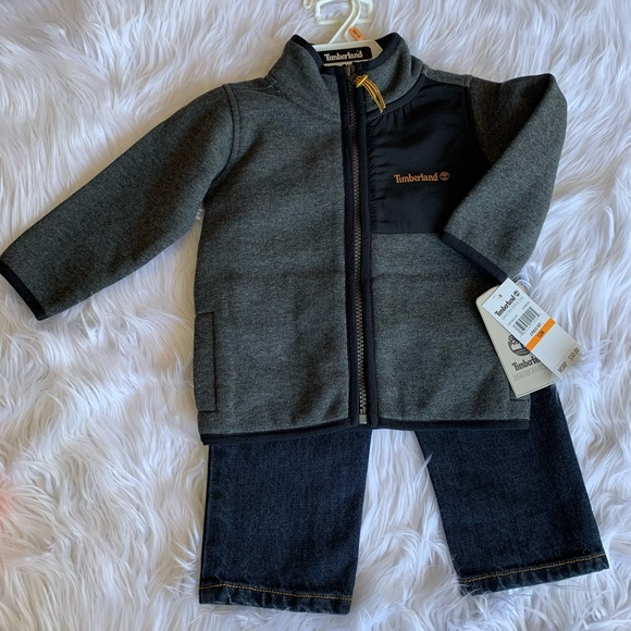 Timberland Other - Timberland Baby Boy Zip Up & Denim